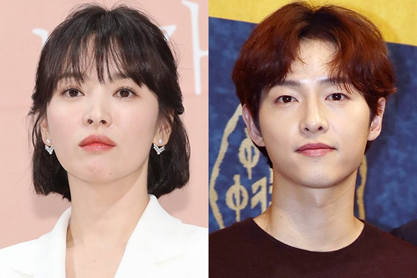 Top stars Song Hye-kyo and Song Joong-ki taking legal steps for divorce