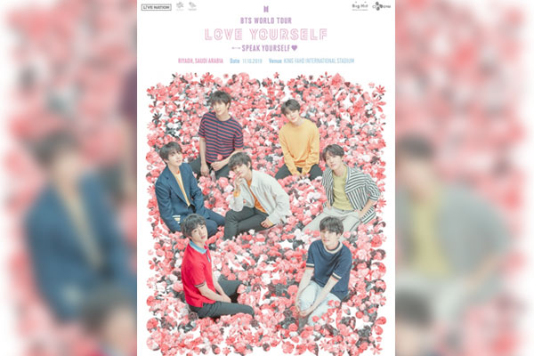 BTS to hold concert in Saudi Arabia