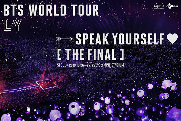 BTS kết thúc tour lưu diễn bằng concert ở Seoul vào tháng 10