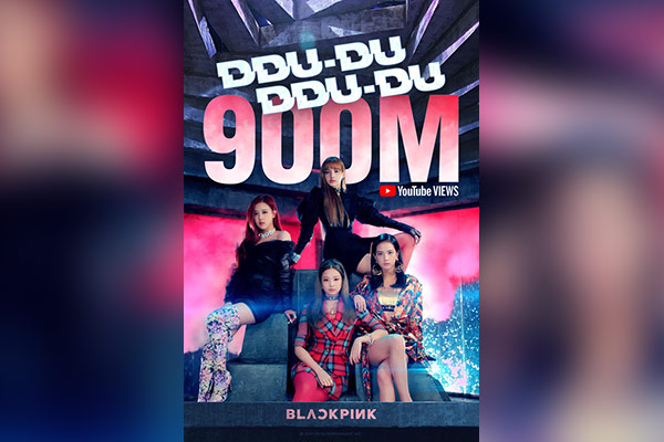 Blackpink becomes first K-pop group to have MV reach 900 mln views