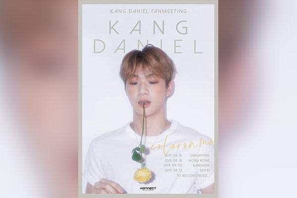 Kang Daniel veranstaltet Fantreffen in Bangkok