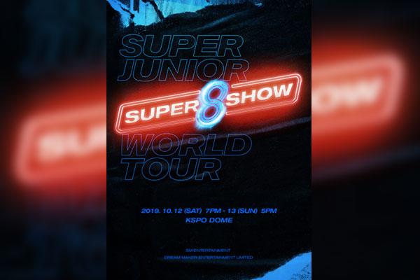 Super Junior lancera une nouvelle version de son « Super Show » en octobre