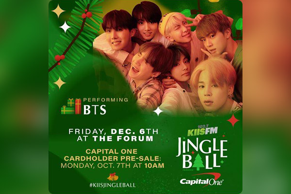 BTS wollen am iHeart Radio Jingle Ball teilnehmen