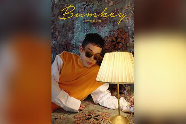 """""""Giọng hát từ thiên đường"""" Bumkey chuẩn bị trở lại với single mới vào ngày 18/10"""