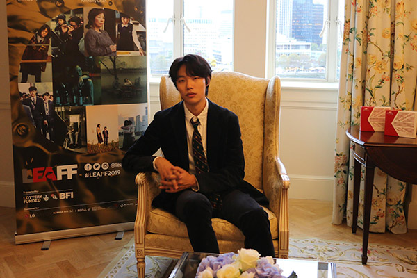 Ryu asiste al Festival de Cine Asiático de Londres