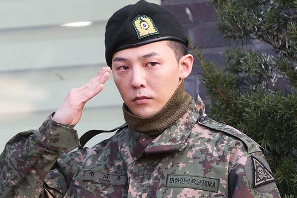 G-Dragon completes mandatory military service
