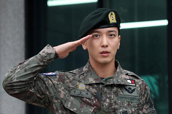 Jung Yong Hwa de CNBLUE termina el servicio militar