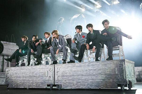 BTS gewinnt drei Preise bei den MTV Europe Music Awards