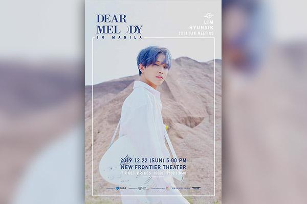 Im Hyun-sik (BTOB) sẽ tổ chức fanmeeting cá nhân đầu tiên tại Manila