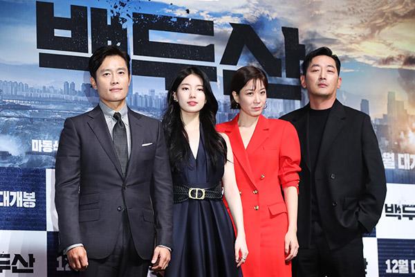 """La película """"Monte Baekdu"""" genera elevadas expectativas"""