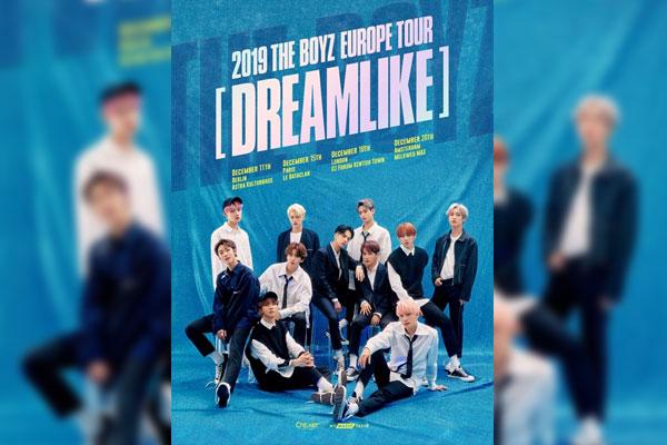 The Boyz lance sa première tournée européenne