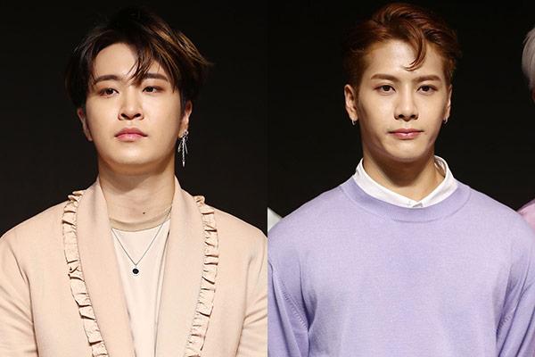 La salud impide a Yungjae y Jackson reunirse con sus fans