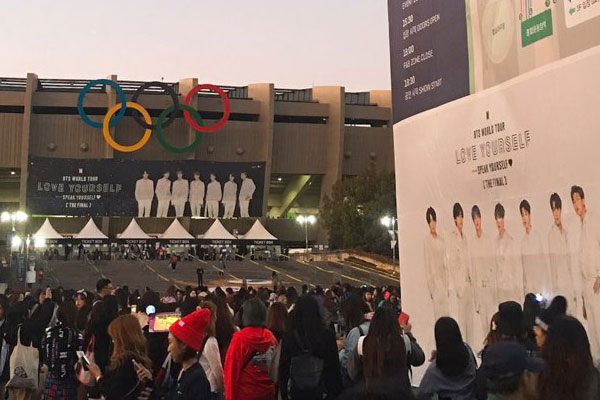 La tournée mondiale de BTS a généré plus de 130 milliards de wons de recettes