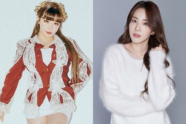 다시 뭉친 박봄·산다라박… 듀엣곡 '첫눈' 발매