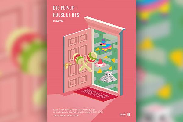 BTS mở cửa hàng pop-up tại Mexico sau Hàn Quốc, Nhật Bản