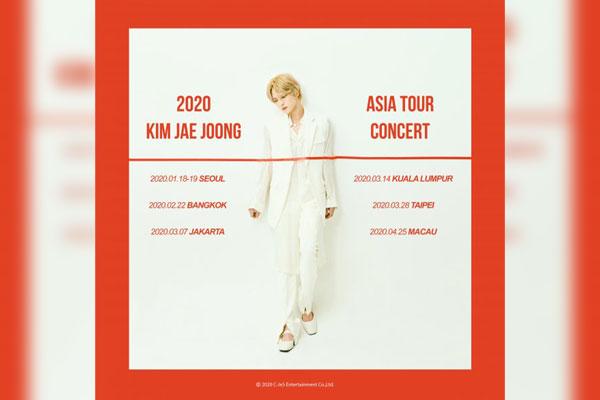 Kim Jae Joong se va de gira por Asia