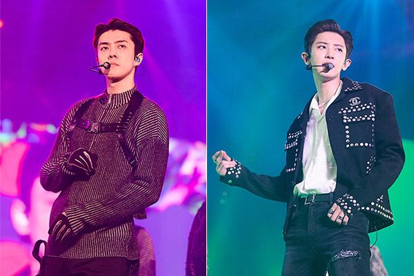 Fotos de pasaporte de Chanyeol y Sehun de Exo han sido filtradas