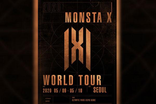 몬스타엑스, 네 번째 월드투어…5월 서울서 포문