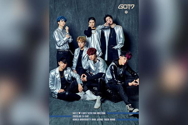 """GOT7 tung poster fanmeeting kỉ niệm 6 năm debut cực """"độc"""" khiến fan hâm mộ thích thú"""