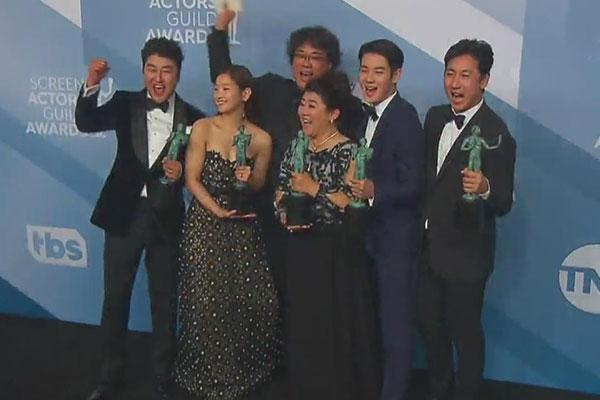 'Parasite' wins SAG award for acting ensemble