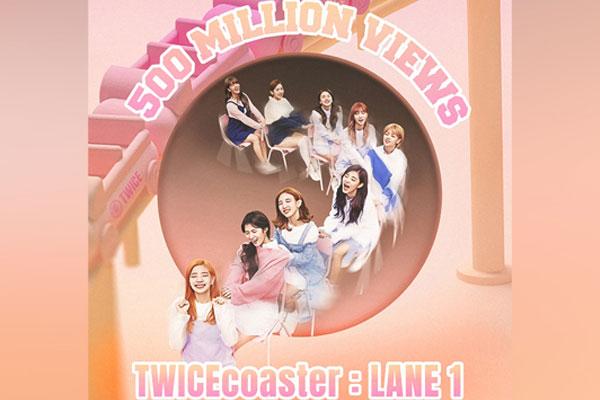 트와이스, 'TT'로 유튜브 첫 5억 뷰 뮤비