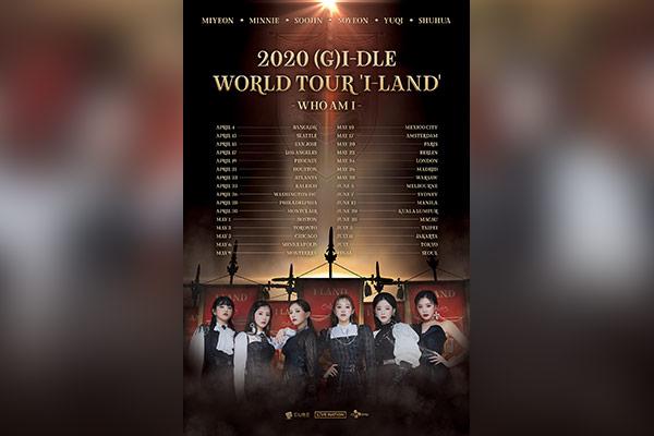 G-Idle wollen Welttournee beginnen