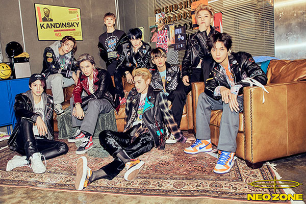 NCT 127's new release ranks within top 10 on Billboard 200