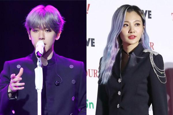 De plus en plus de collaborations entre stars de k-pop ce mois-ci
