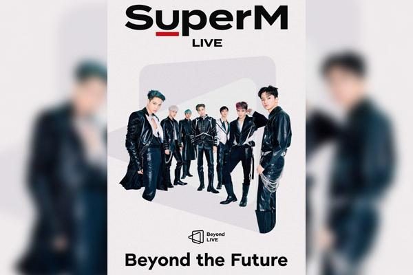 SuperM gibt Online-Konzert
