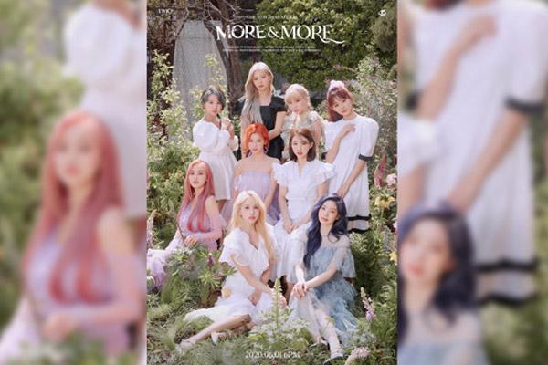 트와이스, 오는 31일 신곡 '모어 앤드 모어' 일부 선공개