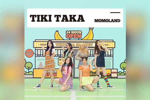 '유통령' 모모랜드, 뽀로로 주제곡 '티키타카' 오늘 발매