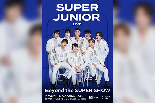 Super Junior ofrecerá un show online