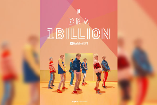 BTS MV tops 1 bln YouTube views