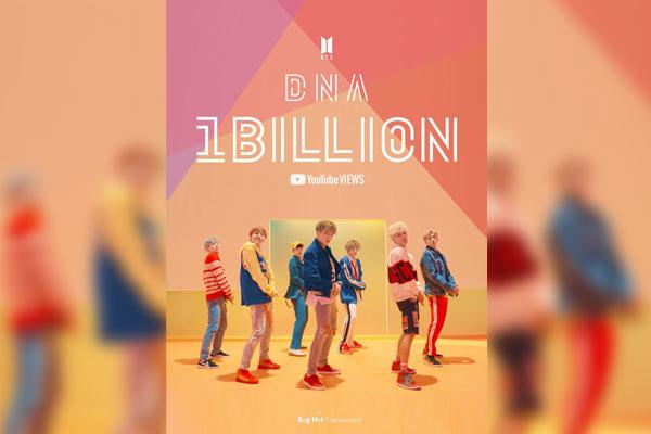 أول فيديو موسيقي لبي تي إس يتجاوز عدد مرات مشاهدته مليارا