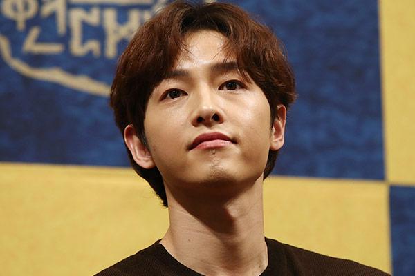 Song Joong-ki thông báo rút lui khỏi phim mới