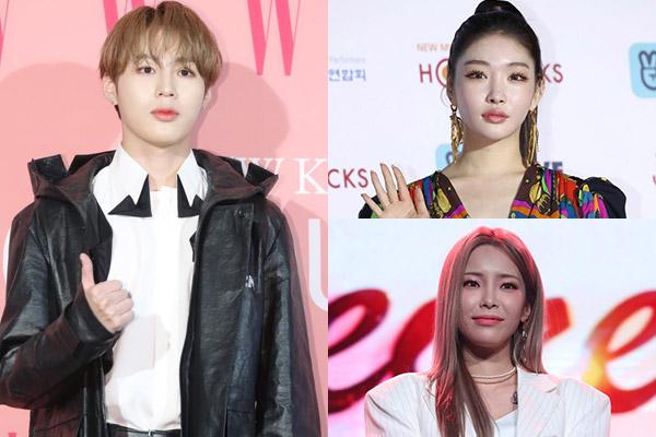 Ha Sung-woon, Chung-ha et Heize sont tous de retour