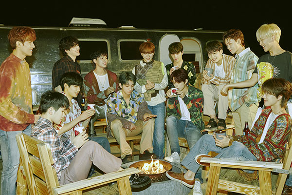 Seventeen's latest album sells over 1 mln copies