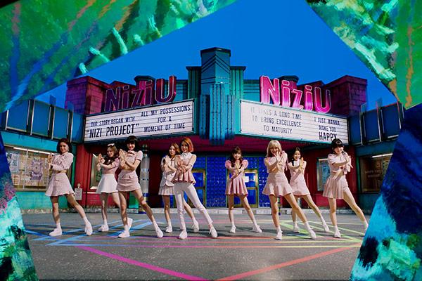 Nhóm nữ mới nhà JYP – NiziU đứng đầu bảng xếp hạng Line Music tại Nhật Bản