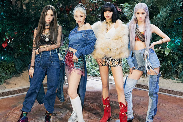 BLACKPINK erreicht als K-Pop-Gruppe den höchsten Platz in den Spotify-Charts