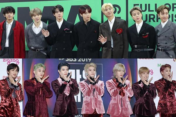 BTS est le boys band le mieux reconnu pour juin