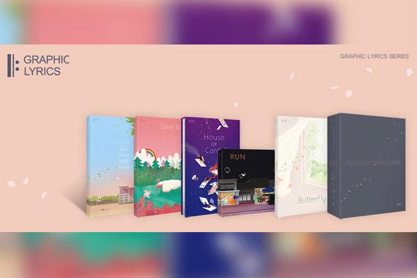 Une série de livres « paroles graphiques » de BTS va voir le jour