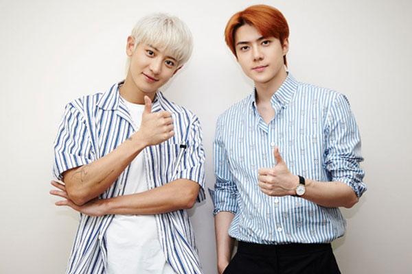 엑소 세훈·찬열, 첫 정규앨범으로 50개국 아이튠즈 1위