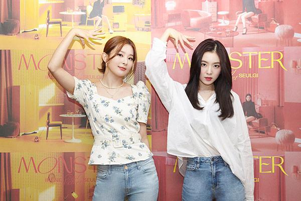 Irene und Seulgi sind erfolgreich aktiv