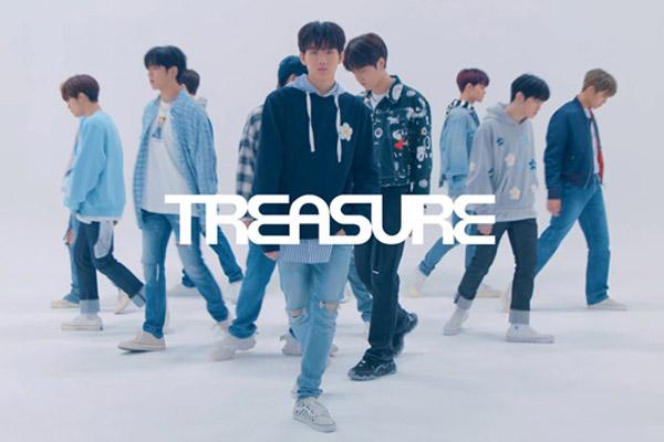 YG 신인 트레저, 데뷔 싱글 '더 퍼스트 스텝'으로 첫걸음