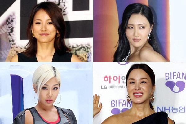 Lee Hyo-ri, Hwasa (MAMAMOO), Jessi, Uhm Jung-hwa thảo luận dự án nhóm nhạc mới