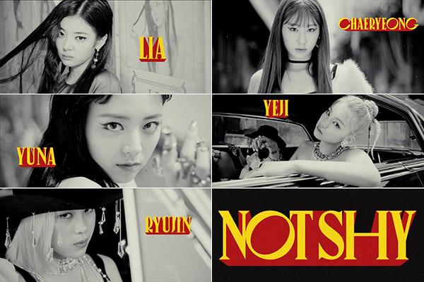 ITZY 新曲「Not Shy」8月17日発売