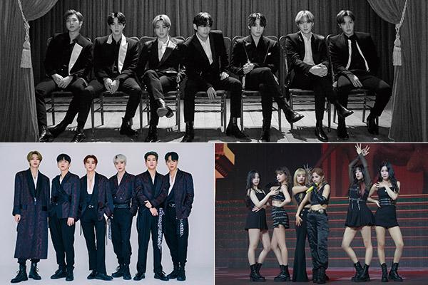Hàng loạt nghệ sĩ K-pop giành đề cử MTV VMAs 2020