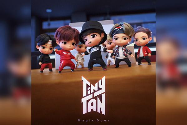 Big Hit ra mắt bộ nhân vật hoạt hình TinyTAN dựa theo BTS