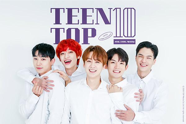 Teentop zum zehnten Bühnenjubiläum wieder sehr beliebt