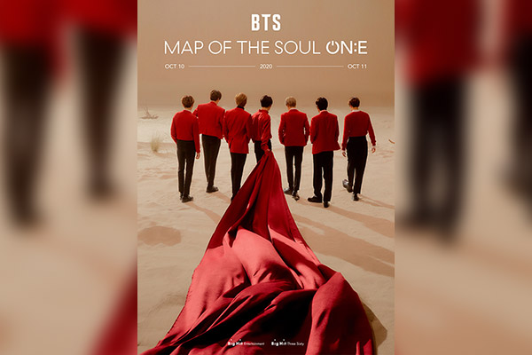 """BTS thông báo lịch trình biểu diễn trực tiếp và trực tuyến concert """"Map Of The Soul ON:E"""""""